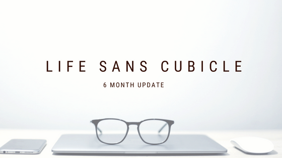 Life Sans Cubicle: 6 Month Update