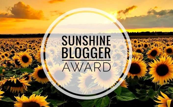 2018 Sunshine Blogger Award Nominations