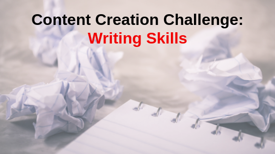 Content Creation Challenge: Writing Skills